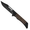 Zero Tolerance 0223 Galyean Frame Lock Flipper DLC Titanium w/ Earth Brown G-10 Handle DLC Blade