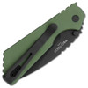 Pro-Tech Strider PT Auto Solid Green Handle DLC Blade 2303-GRN