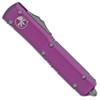 Microtech Ultratech D/E Contoured Violet Stonewash Standard 122-10VI