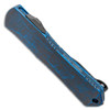 Heretic Knives Manticore S Recurve Breakthrough Blue Handle DLC Blade H025-6A-BRKBL