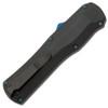 Benchmade Autocrat OTF Auto D/E Black G-10 Handle DLC Blade Blue Ti HW 3400BK