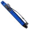 Microtech Exocet D/E Blue Black Standard Cali Legal OTF Money Clip 157-1BL