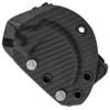 Microtech Bastinelli Iconic Karambit Fixed Blade Black G-10 Stonewash Standard Left Hand Carry Sheath 118-10L