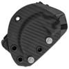 Microtech Bastinelli Iconic Karambit Fixed Blade Carbon Fiber DLC Standard Signature Series Right Hand Carry Sheath 118-1DLCSR