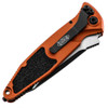 Microtech Socom Elite Auto T/E Orange Black Standard 161A-1OR