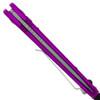 Microtech LUDT Auto Violet Satin Standard 135-4VI