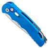 Pro-Tech TR-5 Auto Solid Blue Handle Stonewash Blade T501-BLUE