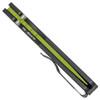Pro-Tech Strider PT Auto Solid Black Handle Green Cerakote Blade USN GXI Custom Limited Edition 2300-GXI
