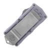 Microtech Exocet D/E Gray Apocalyptic Standard Cali Legal OTF Money Clip 157-10APGY