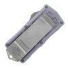 Microtech Exocet D/E Gray Apocalyptic Standard Cali Legal OTF Money Clip 157-10APGY
