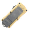 Microtech Exocet D/E Champagne Gold Apocalyptic Standard Cali Legal OTF Money Clip 157-10APCG