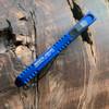 Heretic Knives Manticore E D/E Blue Handle DLC Blade H028-6A-BLU