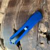 Heretic Knives Manticore E Tanto Blue Handle DLC Blade H027-6A-BLU