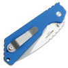 Pro-Tech Strider SnG Auto Solid Blue Handle Stonewash Blade 2401-BLUE