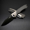 Heretic Knives Wraith Manual S/E Carbon Fiber Handle w/ Flamed Ti Bolster DLC Blade H001-6A-CFFTI