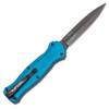 Benchmade Infidel OTF Auto Blue Handle Black Blade Limited Edition 3300BK-2001