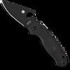 Spyderco Para 3 Lightweight Compression Lock Black FRN Handle DLC Blade C223PBBK