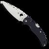 Spyderco Native Chief Lock Back Carbon Fiber Handle Satin S90V Blade Sprint Run C244CF90VP