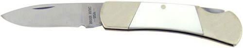 Bear & Son Cutlery Lock Back Mother of Pearl 825