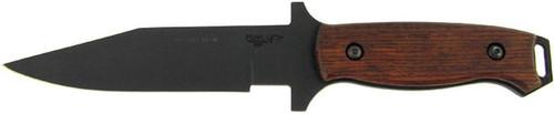 Bear Ops CQC-100-CB2-T Clip Point Hunter Cocobolo Wood Titanium Finish 31004