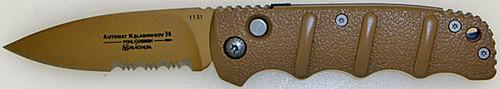Boker Plus Automat Kalashnikov 74 Desert Sand Serrated 01KALS74DES