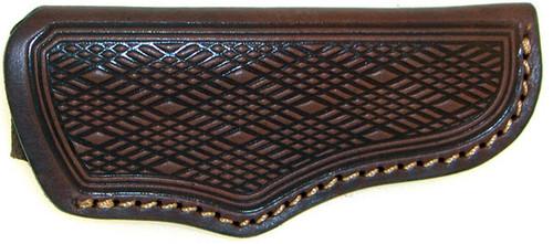 Boker Tooled Leather Sheath For Large Folding Hunter 92020