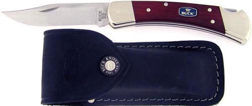 Buck 110 Chairman Series Folding Hunter Cherry Dymondwood 110CWSNK-B