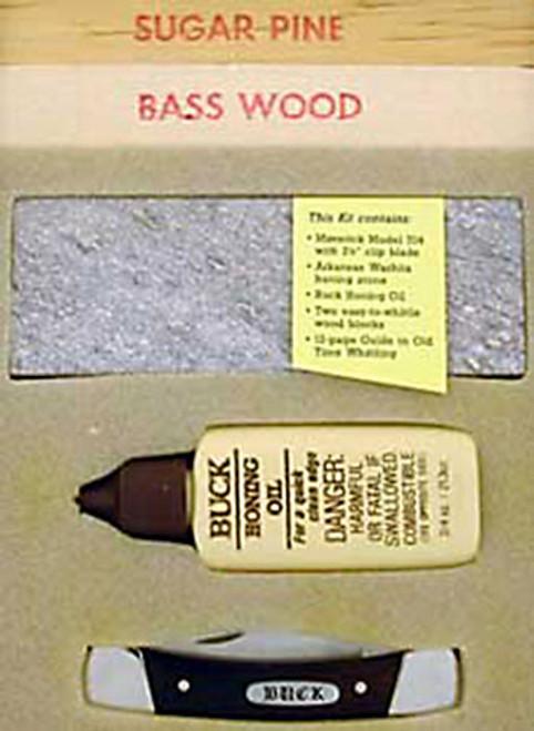 Buck 704 Maverick Slip Joint Whittling Kit