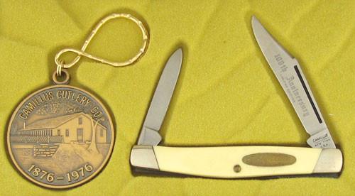 Camillus 100th Anniversary Bicentennial Pen Knife 1976