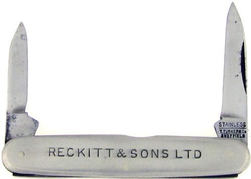 T. Turner & Co. Antique Pen Knife Reckitt & Sons LTD