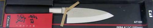 Kai Housewares Kitchen Cutlery Wasabi Black Deba 6710D