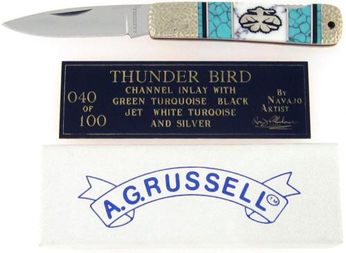 Yellowhorse A.G. Russell Lock Back Thunder Bird YH040