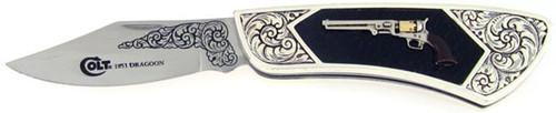 Colt Franklin Mint 1851 Dragoon Folder F1851DR