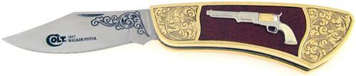 Colt Franklin Mint 1847 Walker Pistol Folder F1847WP