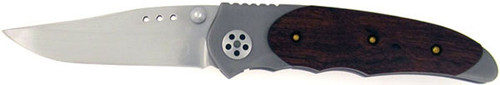Howard Viele Custom Liner Lock Exotic Hardwood & Titanium