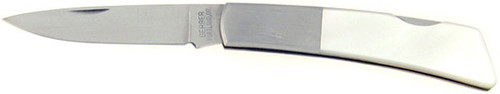 Gerber Silver Knight Lock Back Mother of Pearl 250AMOP