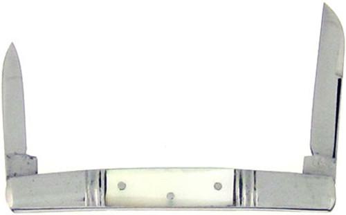 Hen & Rooster Bertram Cutlery Antique Pen Knife Mother of Pearl Small