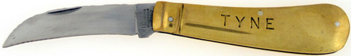 George Wostenholm I*XL Antique Tyne Hawkbill Champagne Knife