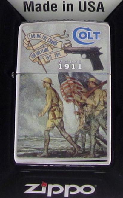 Zippo Lighter Colt 1911 Anniversary 250