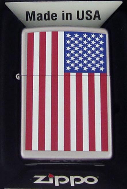 Zippo Lighter American Flag 205