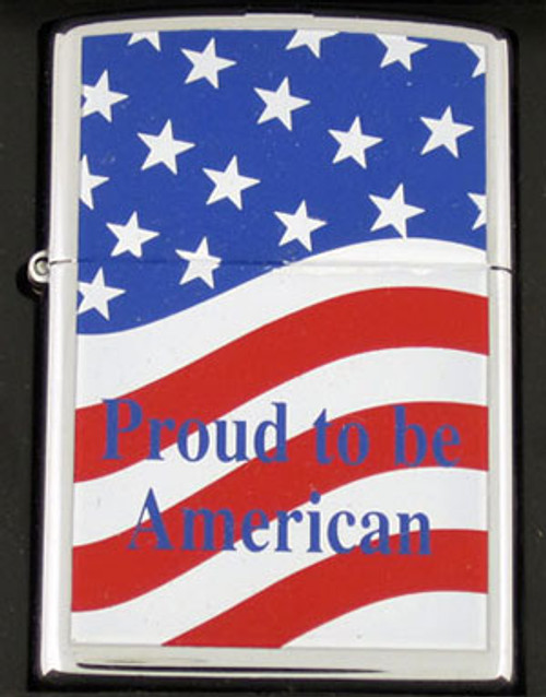 Zippo Lighter Proud to be American