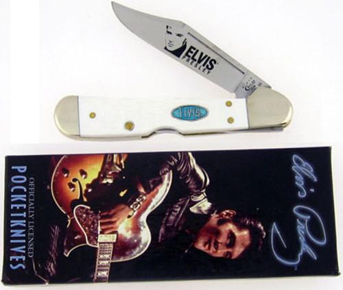 Case XX Elvis Presley Mini Copperlock White 17516