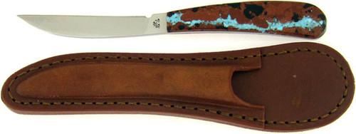Case XX Desk Knife Exotic Veined Turquoise 07266