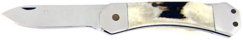 Dick Atkinson Custom Lock Back Genuine Stag