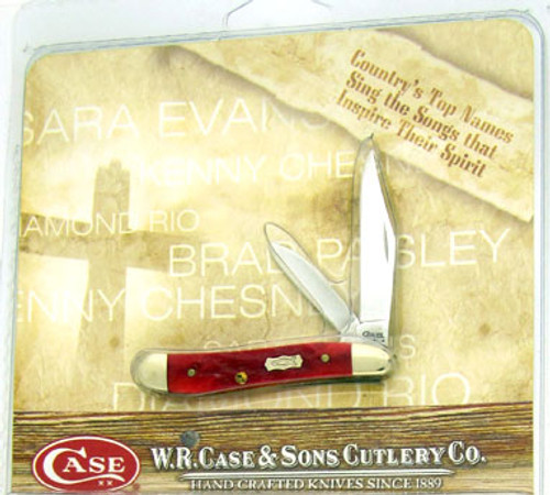 Case XX Country of Faith Peanut w/ CD Red Bone 9746