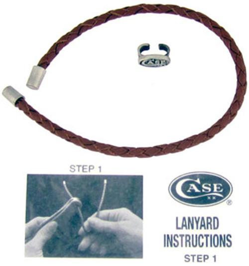 Case XX BackPocket Braided Leather Lanyard 50124