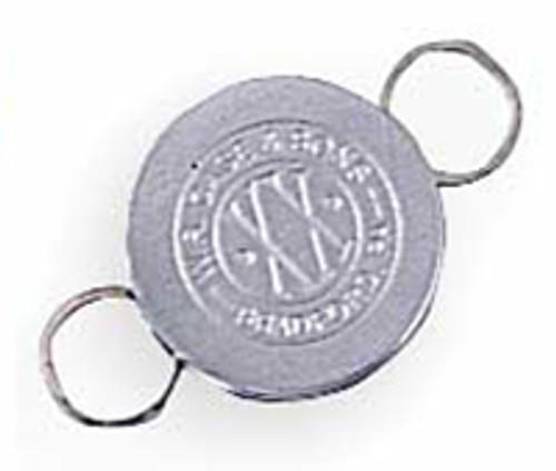 Case XX Key Ring Brushed Chrome 1036