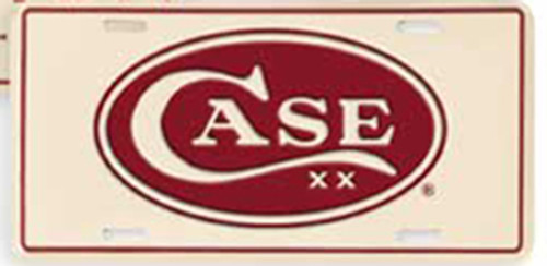 Case XX Collectible License Plate Oval 4597