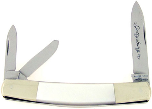 Parker Cutlery Co. Gettysburg Whittler Mother of Pearl
