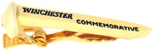 Winchester 24k Gold Plated Commemorative Spike Clip